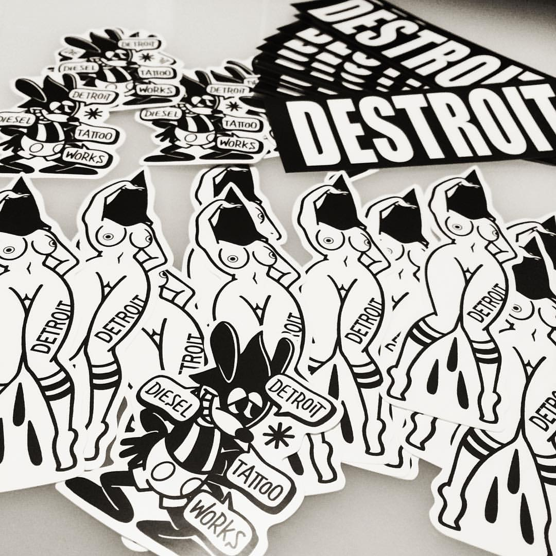 Sticker-1500JPY+tax